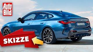 BMW 4er Gran Coupé (2021): Neuvorstellung - Skizze - Design - Info by Auto Bild