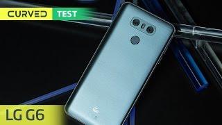 https://curved.de/reviews/lg-g6-2-462831 Das Display größer, das Gehäuse kleiner: LG hat uns auf dem Mobile World Congress in Barcelona mit einem großem ...