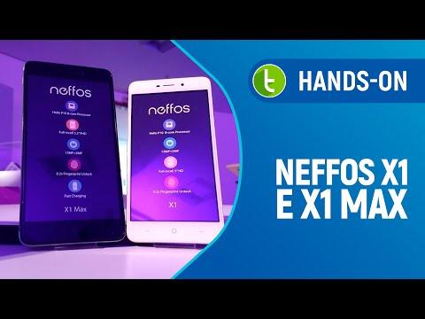 Hands-on e primeiras impressões Neffos X1/X1 Max  Vídeo do TudoCelular