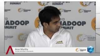 Arun Murthy - Hadoop Summit 2013 - TheCUBE