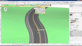 Video Sketchup Tips - How to Conform a Road to a Terrain and Texture it MP3, 3GP, MP4, WEBM, AVI, FLV Desember 2017
