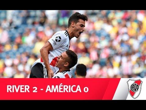 Los lujos y los goles de River ante América