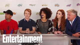 Game of Thrones star Sophie Turner arrived in San Diego for Comic-Con International with several of her castmates for the show's ...