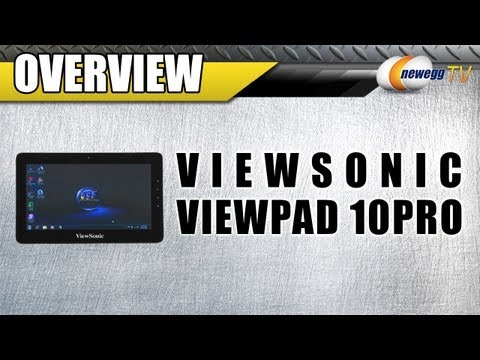 Newegg TV: ViewSonic ViewPad 10Pro Tablet Overview