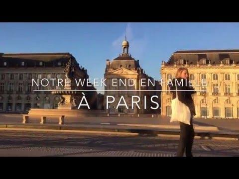 ♡ NOTRE WEEKEND EN FAMILLE A PARIS ♡