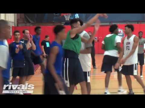 2020 Power Forward Xavier Foster Highlights From USA Basketball