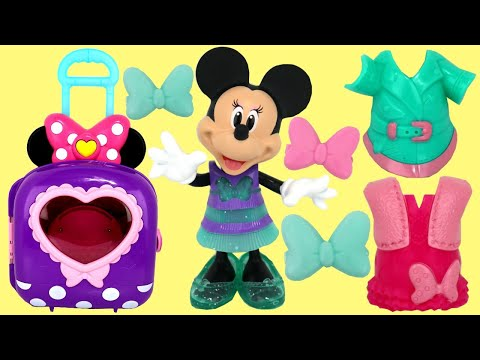 Disney Minnie Mouse Dress Up N Go Bow-tique with Light, Sound & Music