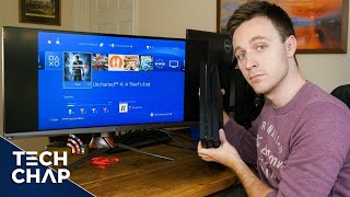 PS4 Pro on an Ultrawide Monitor! How does it work?
