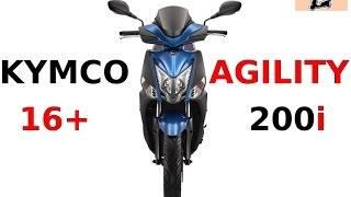 4. KYMCO AGILITY 16+ 200i - performance improvement...