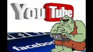 Путин пропаганда Facebook заблокировал, а YouTube?