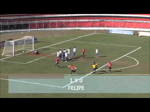 Apucarana Sports 1 X 2 Nacional - Paranaense 2014 (21/09)