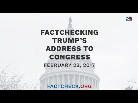 Trump's Address to Congress - FactCheck.org