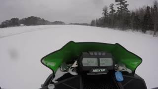 2. 2015 Arctic Cat ZR 6000 RR Lake Run!