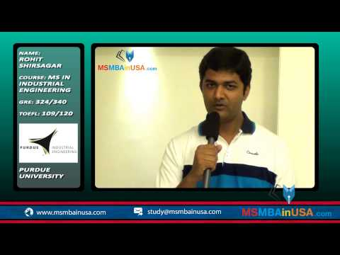 Visa experience and its preparation by Purdue University student – Rohit Shirsagar