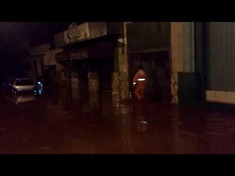 Enchente em Cambará norte do Paraná