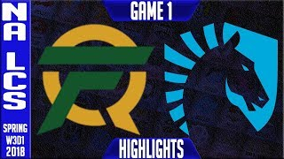 Video FLY vs TL Highlights | NA LCS Week 3 Spring 2018 W3D1 | FlyQuest vs Team Liquid Highlights MP3, 3GP, MP4, WEBM, AVI, FLV Agustus 2018