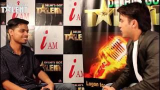 Delhi's Got Talent  Rishabh mishra  Interview