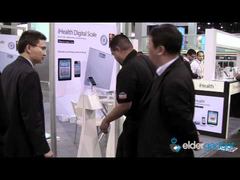 CES 2012 Video: iHealth Wireless Body Fat Scale