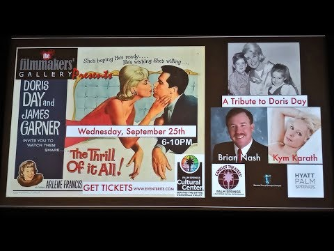 Doris Day (Kristi King)  interviews Kym Karath, child actress in 'The Thrill of It All'