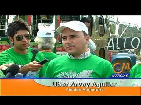 Canal comunitario de Marinilla registró así las caravanas por el desarrollo