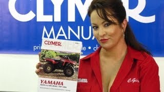 9. Clymer Manuals Honda Yamaha Suzuki Polaris Kawasaki Utility ATV Quad Four Wheeler Manual Video