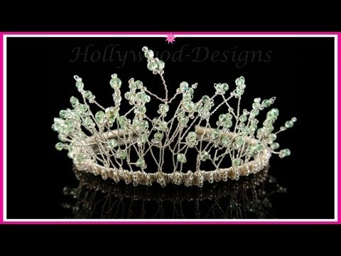 Handmade Bridal Wedding Swarovski Crystal Element - Fantasia Tiara @ Hollywood-Designs.co.uk