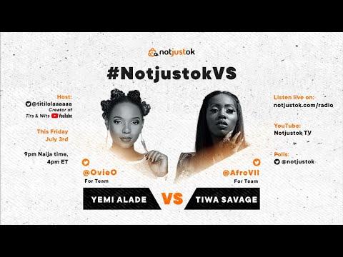 Yemi Alade VS Tiwa Savage | #NotjustokVS