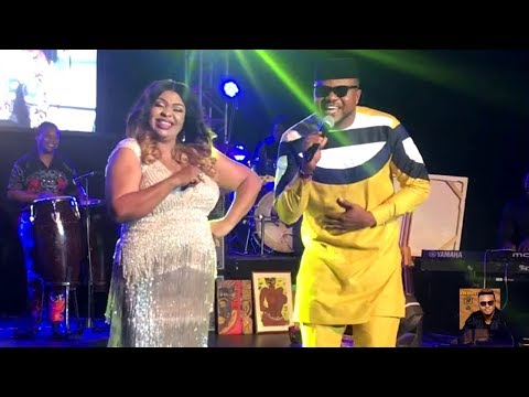 Watch As Ken Erics Performs On Stage With Nollywood Stars - (Ken Erics TV)