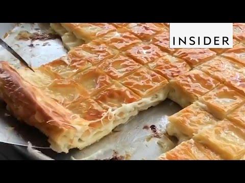 Cheesy Turkish Börek for Breakfast