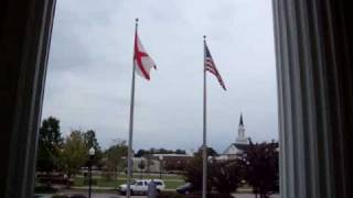 Opelika (AL) United States  city pictures gallery : Lee County Courthouse. Flags, Opelika, Alabama.