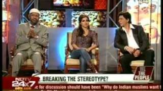 Dr. Zakir Naik, Shahrukh Khan, Soha Ali Khan on NDTV with Barkha Dutt