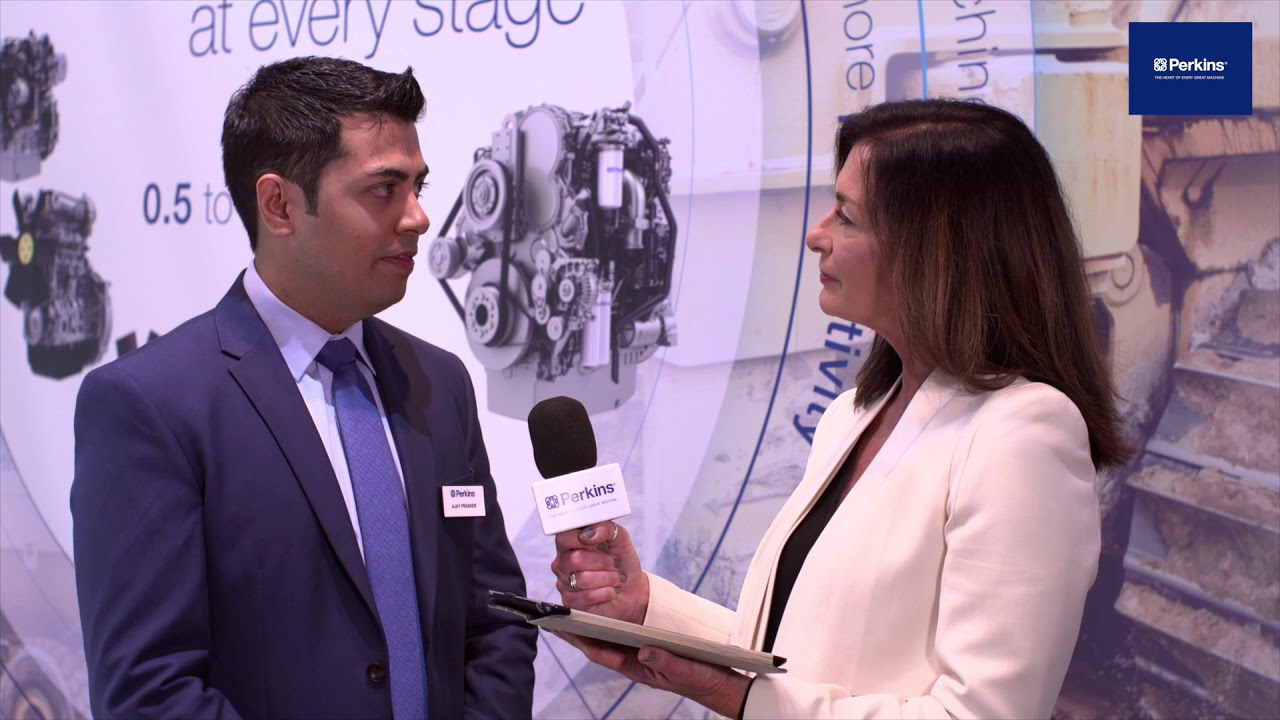 Perkins product marketing's Ajay Prasher speaks about the benefits of the new Perkins® 1204J engine