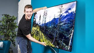LG's OLED Wallpaper TV – Can we use it as a WINDOW?? Pt.1