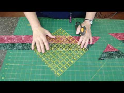 patchwork - tube quilt tutorial