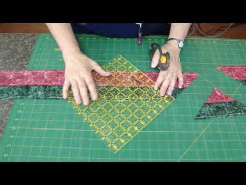 patchwork - tube quilt tutorial