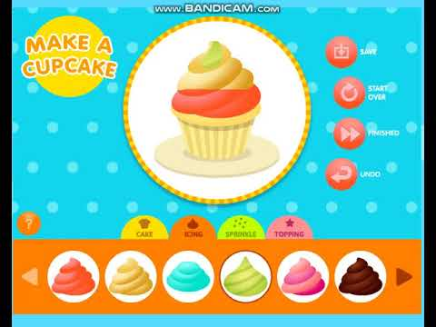 Make A Cupcake - Abcya Game