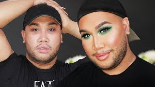 MAKEUP WITH MY FACIAL HAIR! | PatrickStarrr by Patrick Starrr