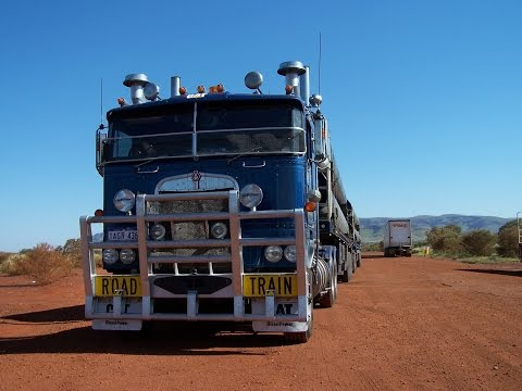 They say you're not a real Australian until you've passed an outback roadtrain!