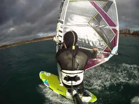 Halterung Trapez Windsurfen GoPro Backy back 1Test surfshop-andreas.de