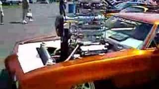 1970 Pontiac GTO double blower - Blown Pro Street