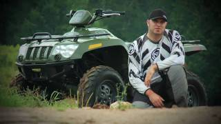 10. 2010 Arctic Cat 450 EFI Test Ride