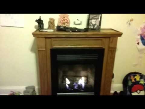 Vent free gas fireplace amazing