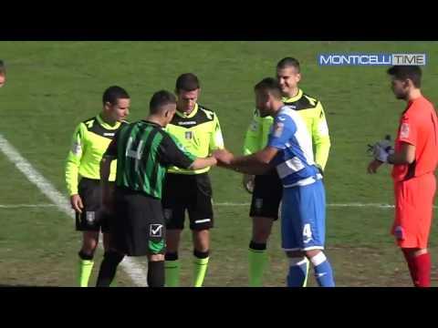 Monticelli-Chieti sospesa per infortunio dell'arbitro