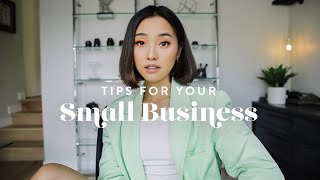 Tips For Your Small Business 💰 (Investing, Marketing & Hiring) by Clothes Encounters