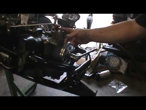distributor drive gear install on vw 1600