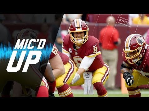 Video: Kirk Cousins Mic'd Up vs. 49ers