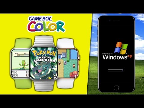 Windows XP su iPhone & Gameboy su Apple Watch!