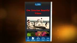 One Direction Beautiful App YouTube video