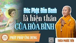 Đức Phật Đản Sanh Là Hiện Thân Của Hòa Bình - Thầy Thích Phước Tiến
