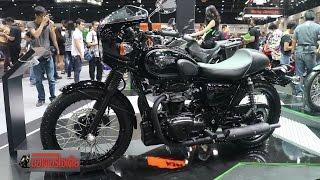 2. W800 + Versys-X300 Kawasaki ถล่ม�หล� 8 รุ่น ในเอ็�ซ์โป 2016 : motorcycle tv